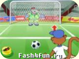 Flash игра Пенальти