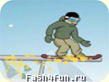 Flash РёРіСЂР° Downhill Snowboard 2