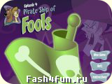 Flash игра Скуби-Ду  Pirate Ship of Fools