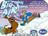 Flash РёРіСЂР° Scooby Doo Big Air Snow Show