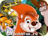 Flash игра Nutty Gomba