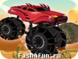 Flash игра Extreme Trucks 2
