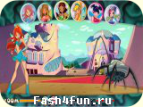 Flash игра Winx Магия