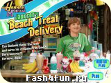 Flash игра Beach Treat Delivery
