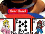 Flash игра Mario Poker