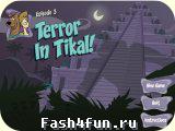Flash игра Скуби-Ду Terror in Tikal