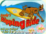 Flash игра Скуби Ду Серфинг