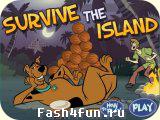 Flash игра Скуби на острове