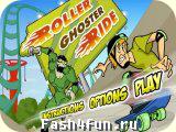 Flash �гра Шэгги на скейте