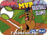 Flash игра Скуби бейсбол