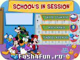 Flash игра Школа с Микки