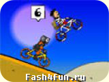 Flash игра Веломаньяки