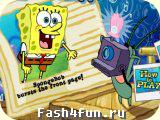 Flash игра Губка Боб журналист