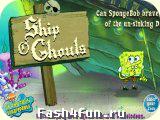 Flash игра Губка-Боб и корабль призрак