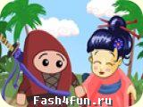 Flash игра Swordless Ninja