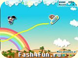Flash игра Человечек с зонтиком