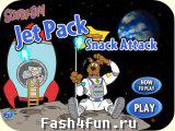 Flash игра Скуби Ду: поймай еду!