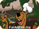 Flash �гра Скуби шеф-повар