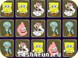 Flash игра Гловоломка со Спанч Бобом