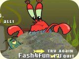 Flash игра Крабс против Планктона