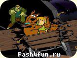 Flash игра Скуби Ду - безумие шахты