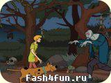 Flash игра Скуби Ду против приведений
