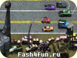 Flash игра Смертельная гонка 2
